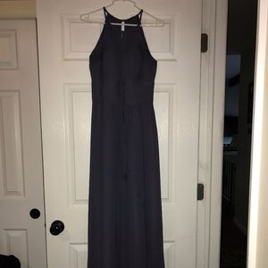Azazie Bonnie Bridesmaids dress - Stormy color